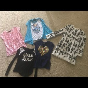 Other - Lot of 5 Girls Tops